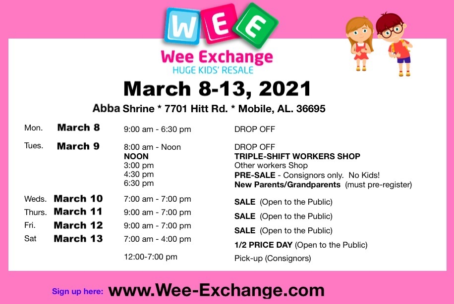 Wee Exchange March 2021